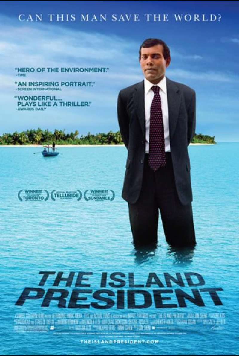 The Island President - Filmplakat (US)