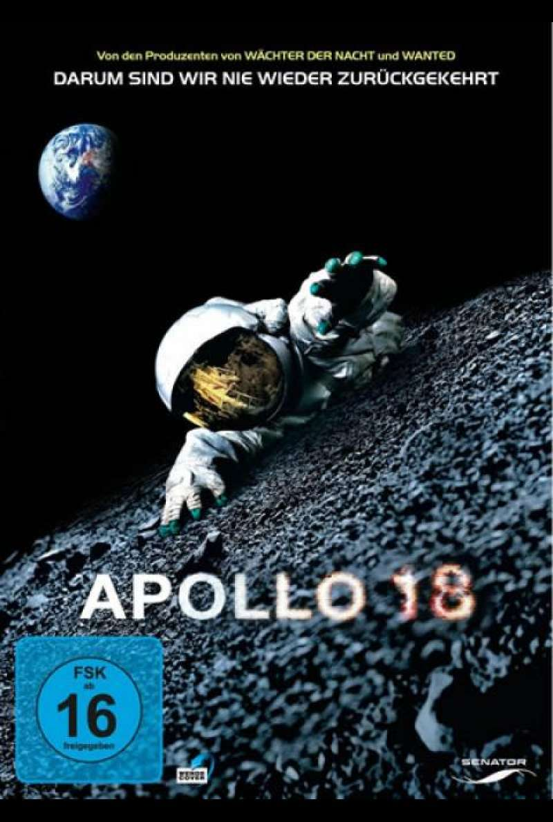 Apollo 18 - DVD-Cover