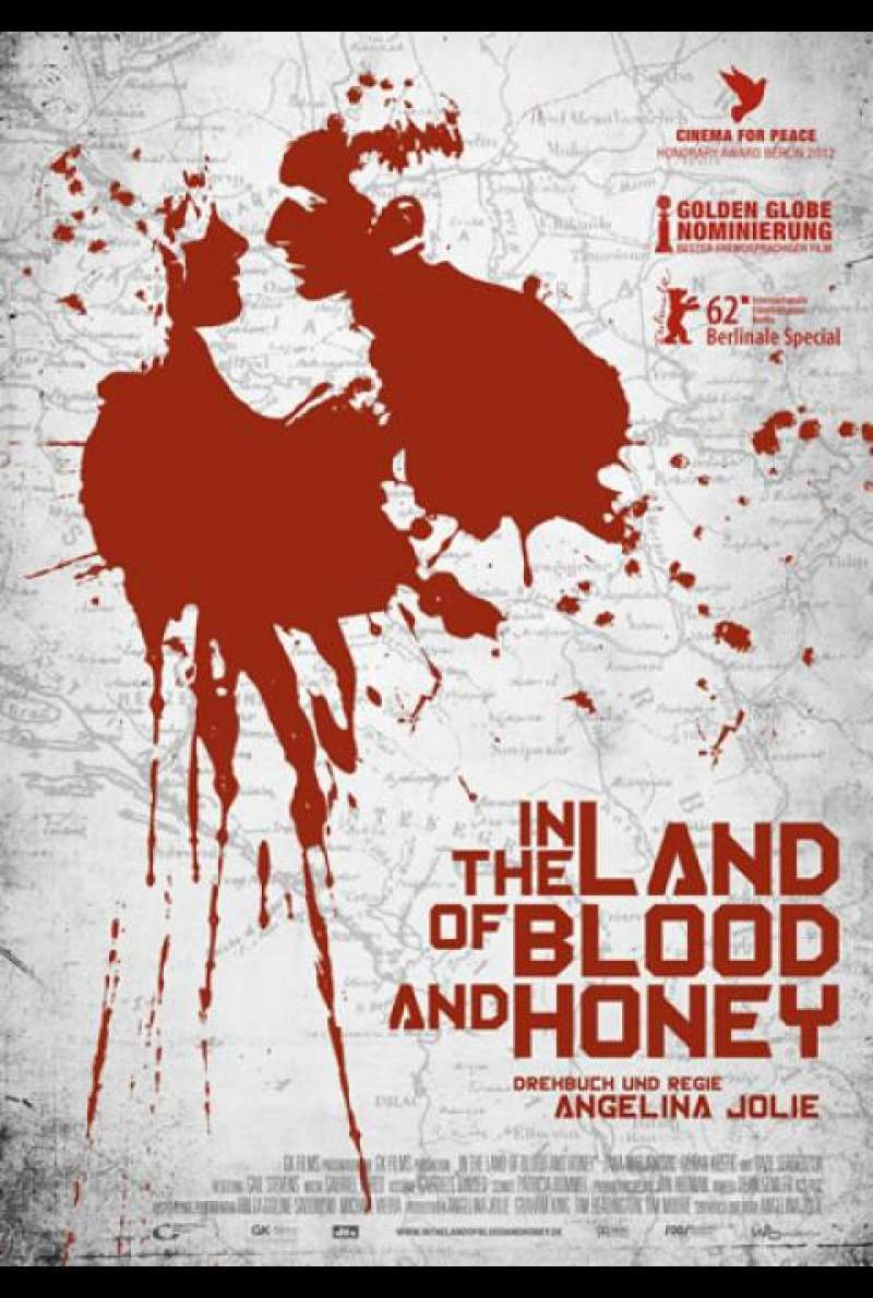 In the Land of Blood and Honey - Filmplakat