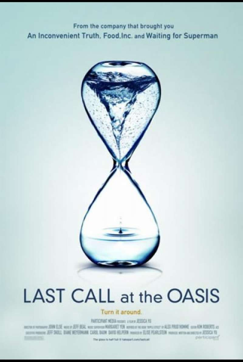 Last Call at the Oasis - Filmplakat (US)