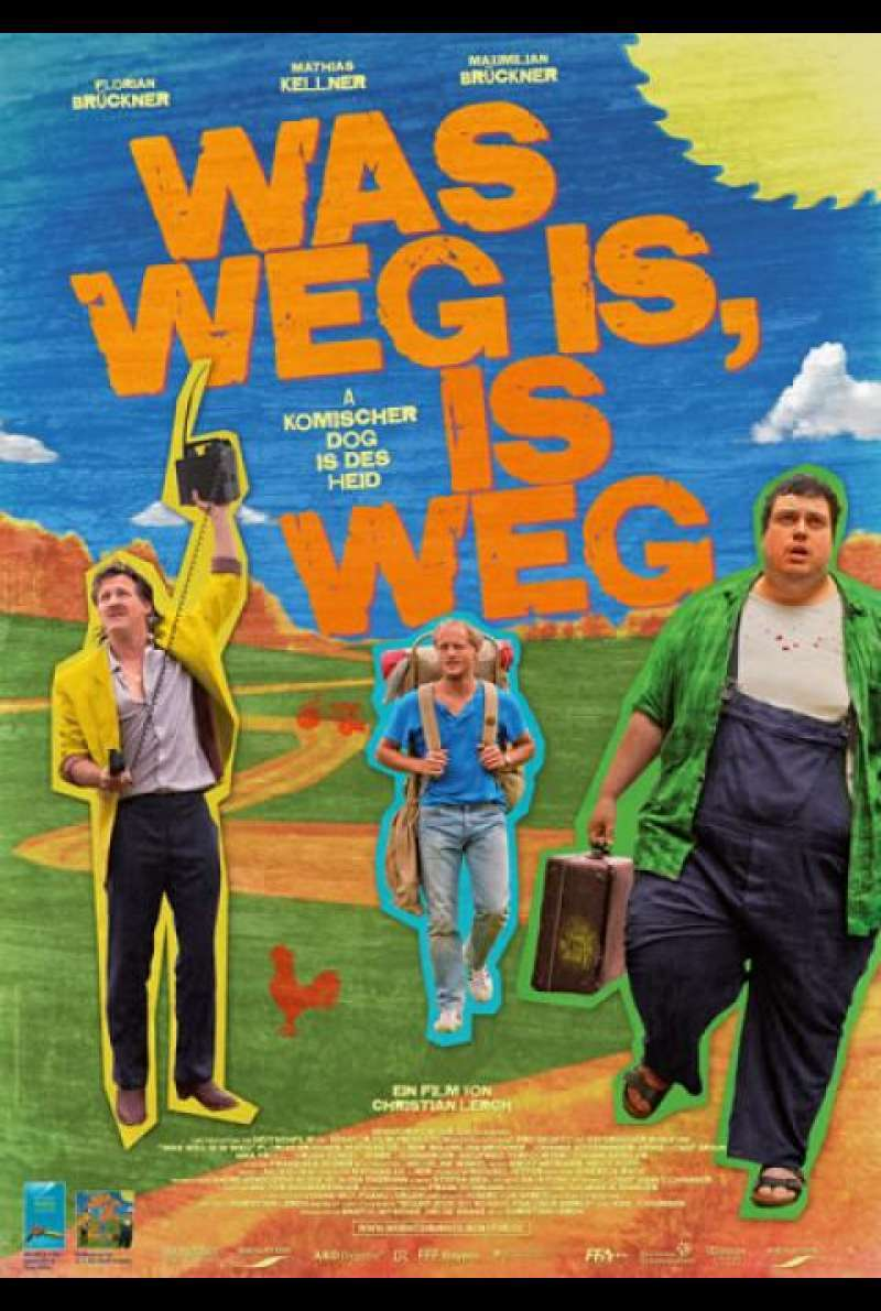 Was weg is, is weg - Filmplakat