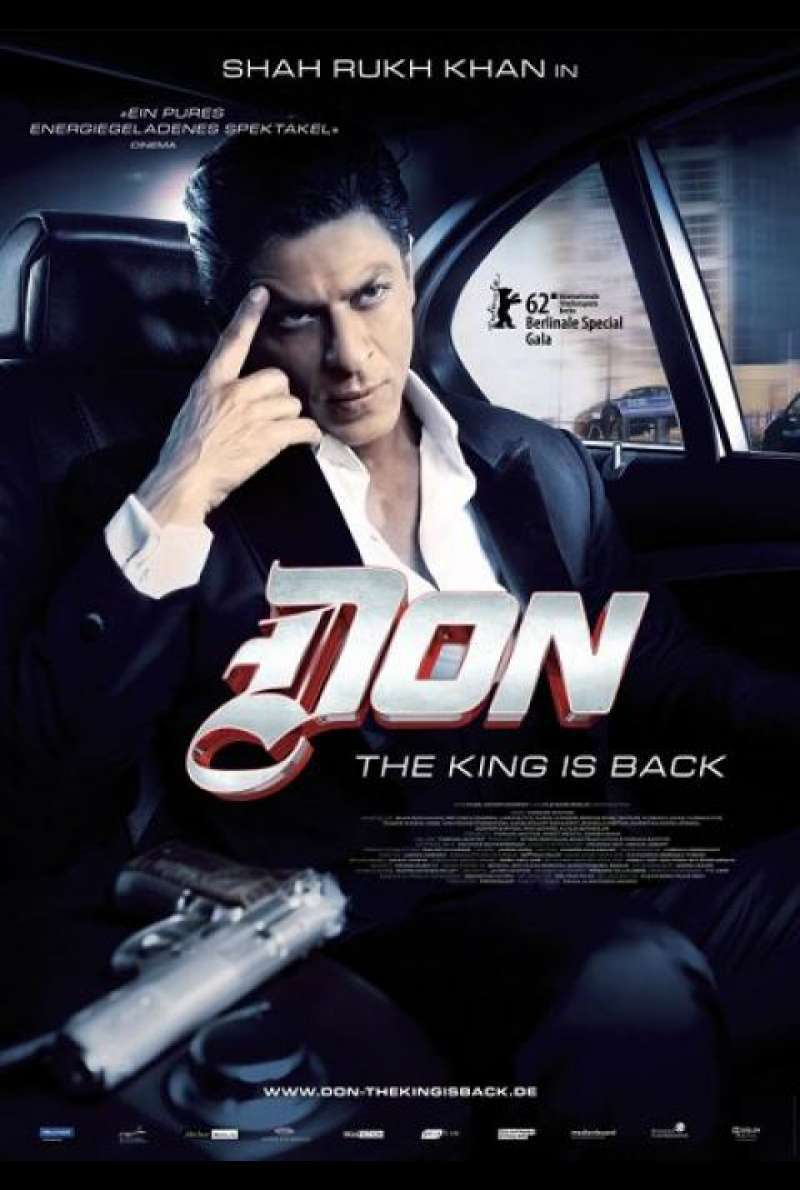 Don - The King is back - Filmplakat