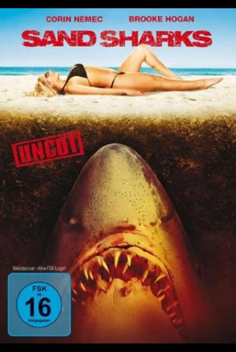 Sand Sharks - DVD-Cover