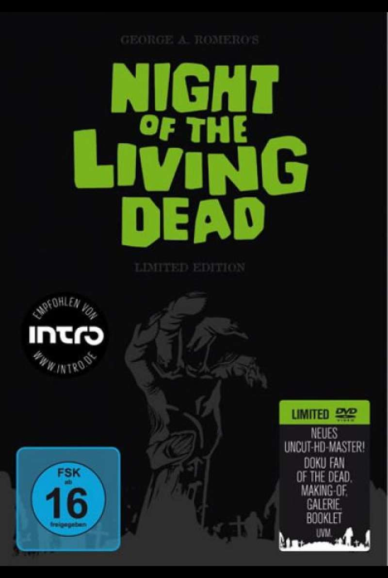 Night of the Living Dead - DVD-Cover