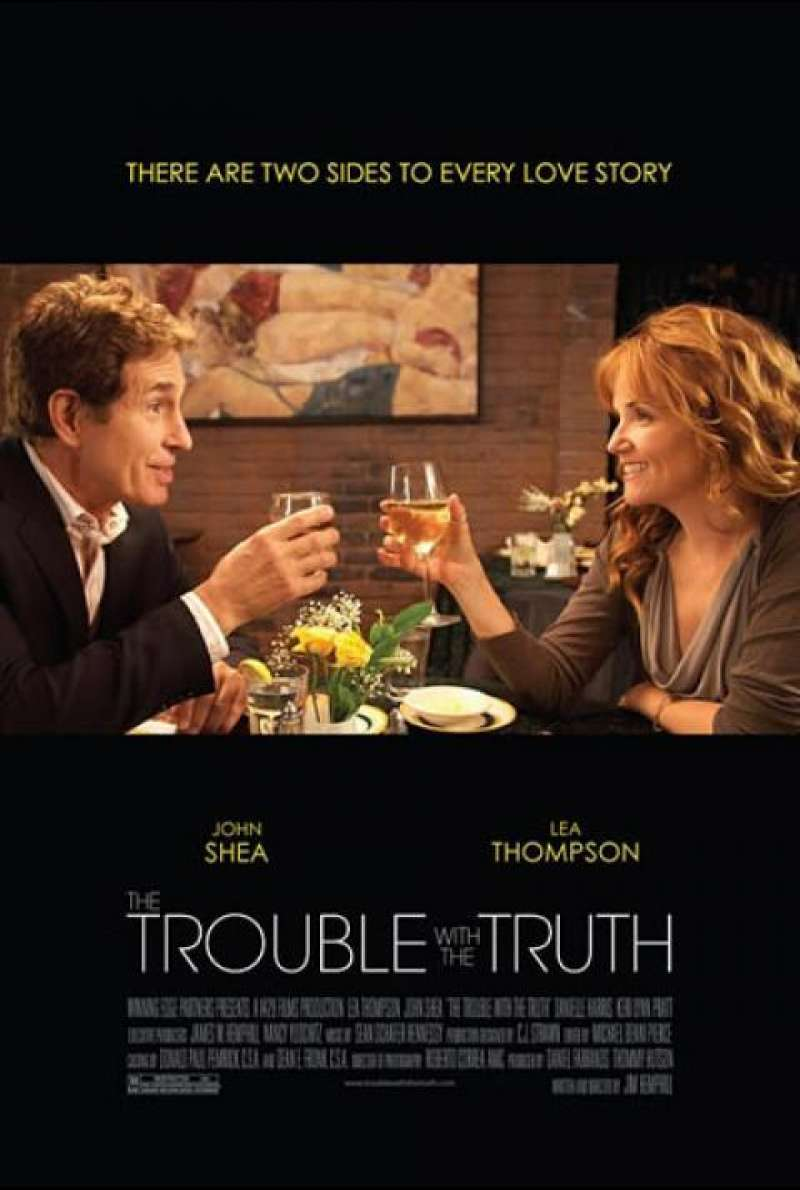 The Trouble with the Truth - Filmplakat (US)
