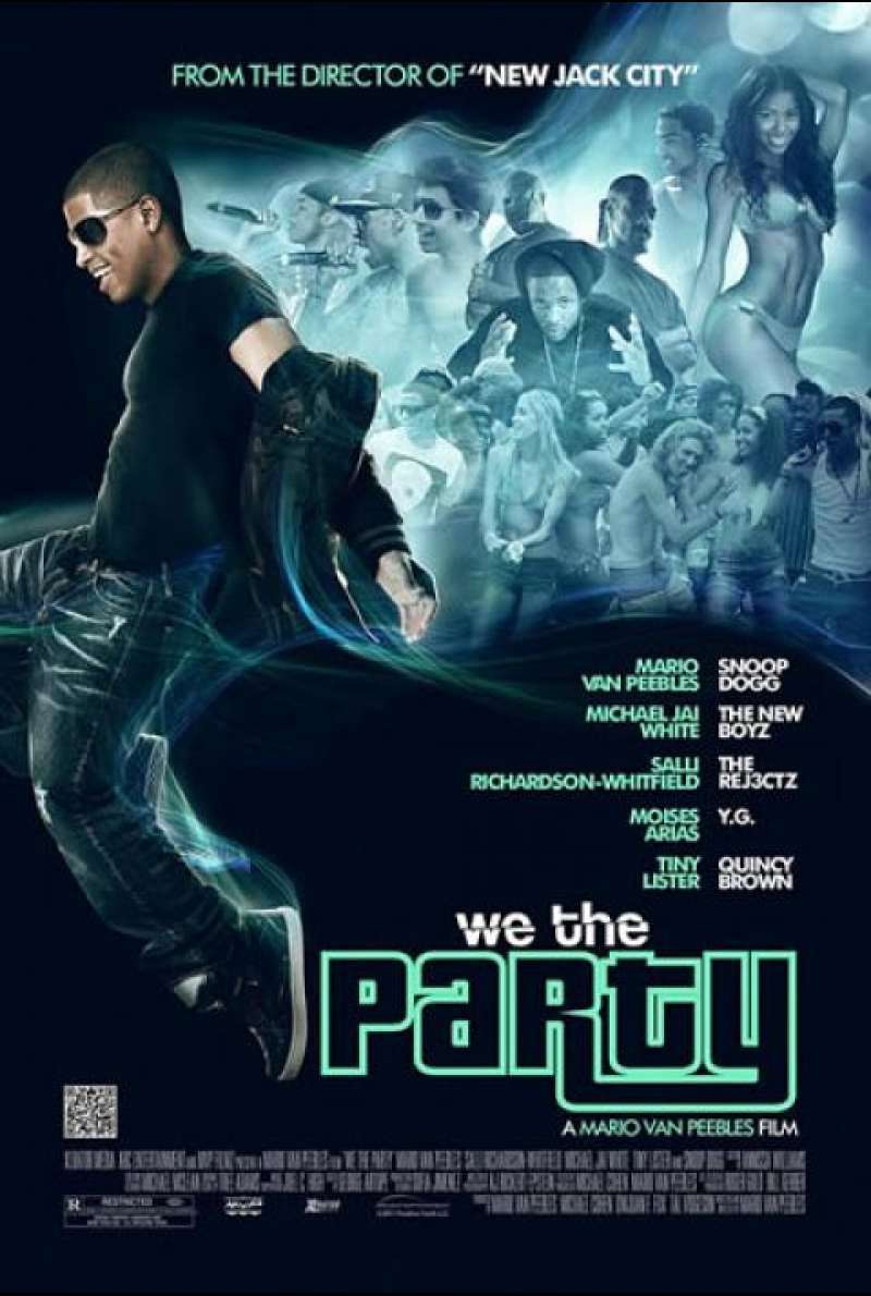 We the Party - Filmplakat (US)
