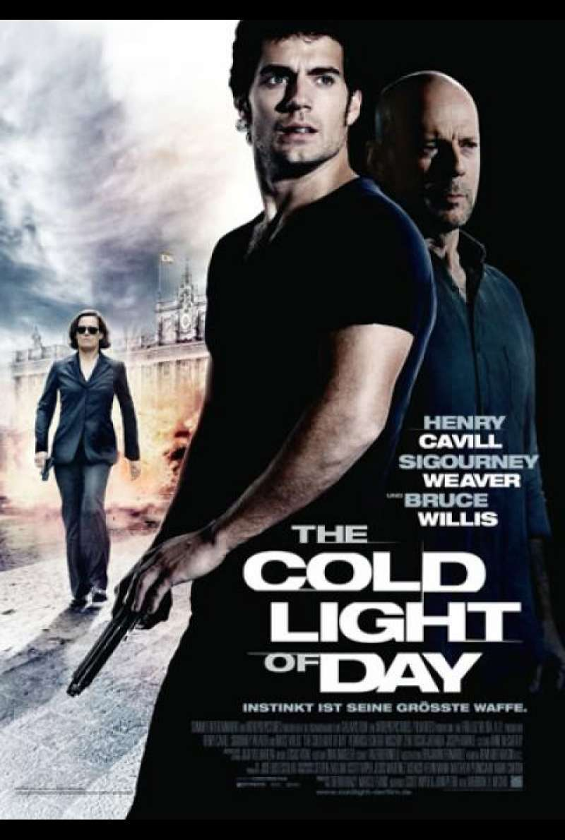 The Cold Light of Day - Filmplakat