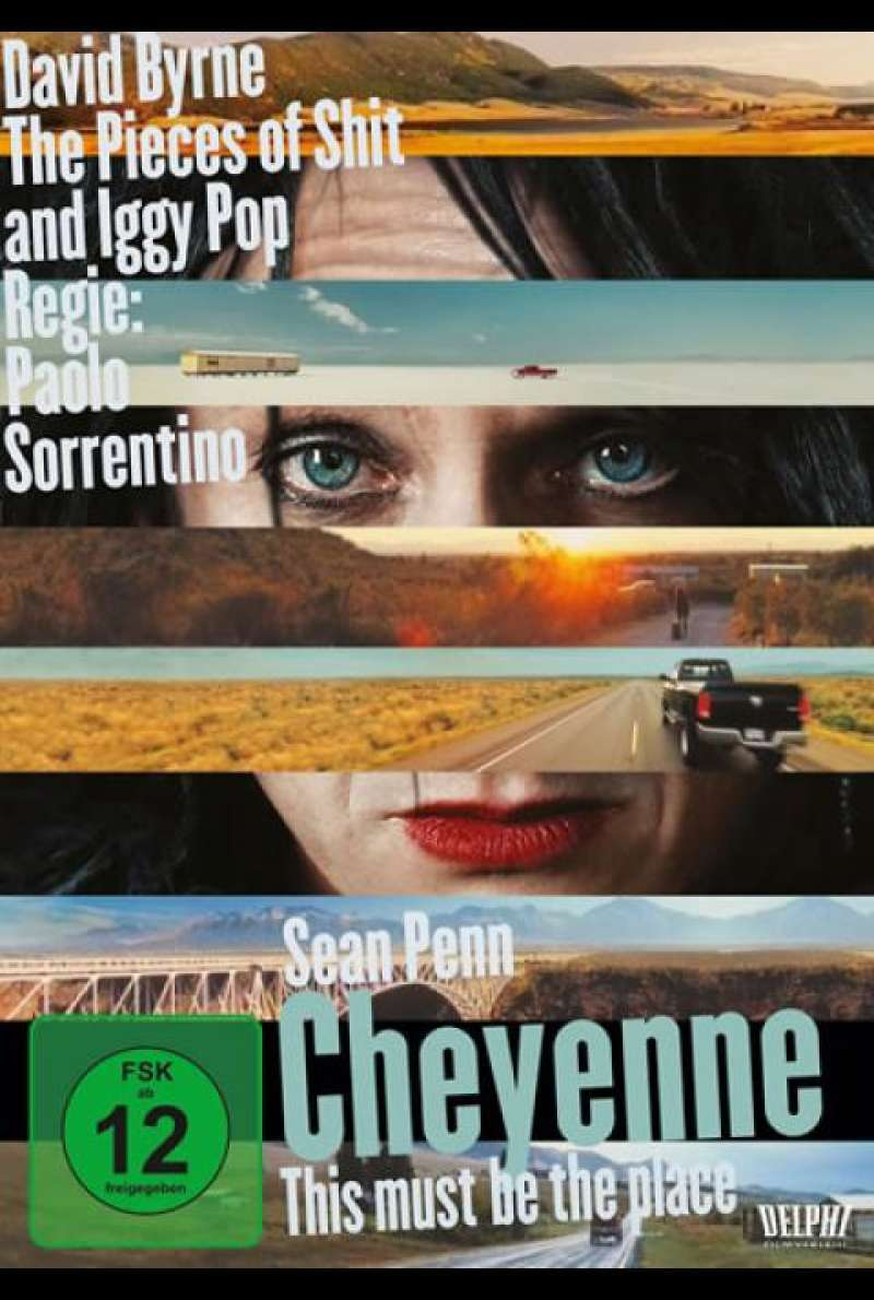 Cheyenne - This Must Be the Place - DVD-Cover
