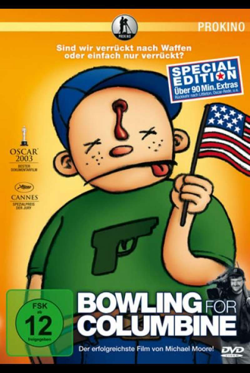 Bowling for Columbine - DVD-Cover