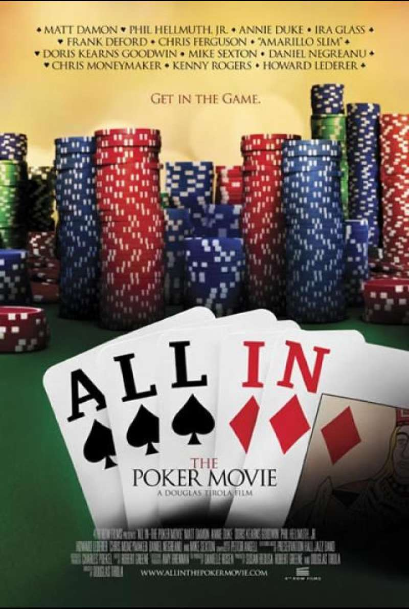 All In: The Poker Movie - Filmplakat (US)