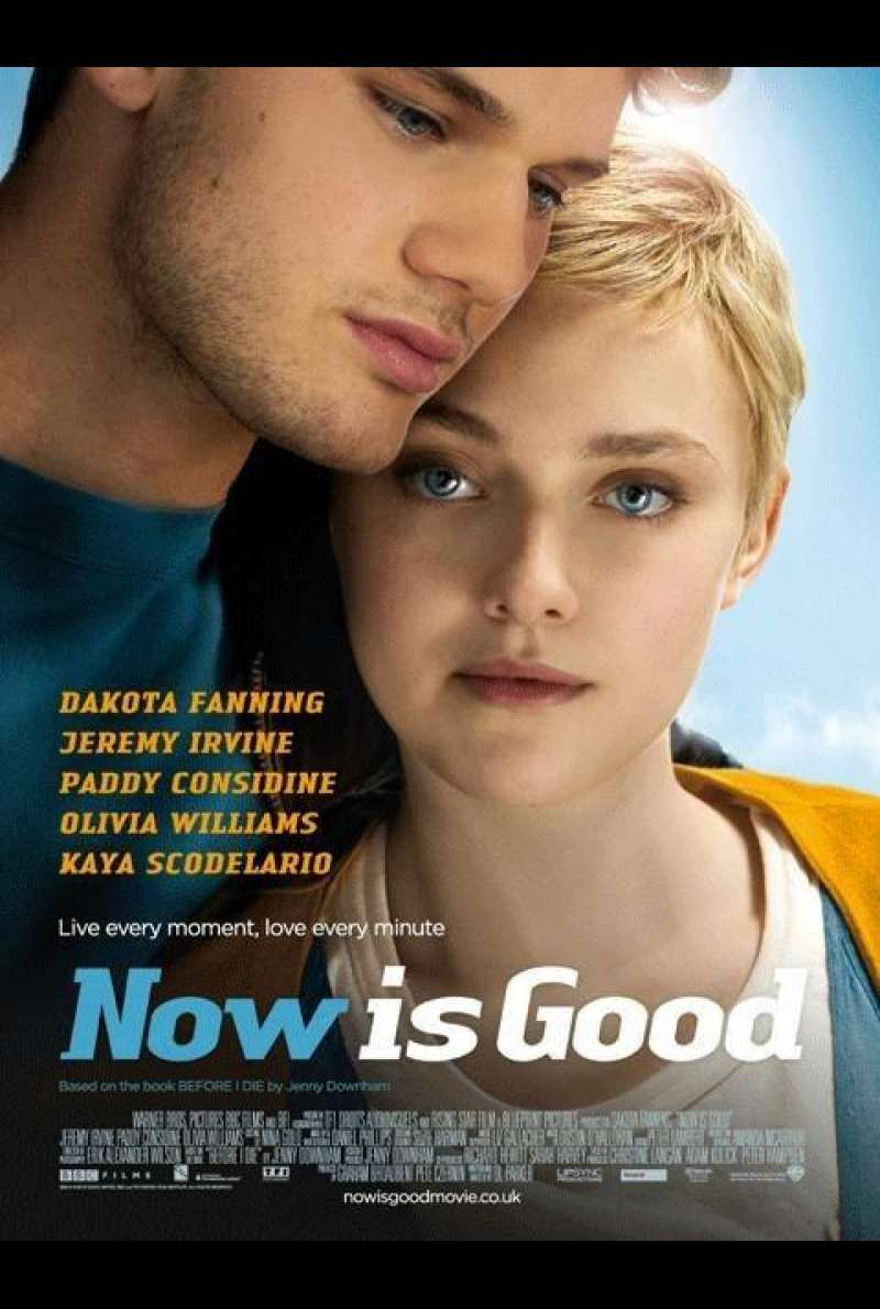 Now Is Good - Filmplakat (GB)