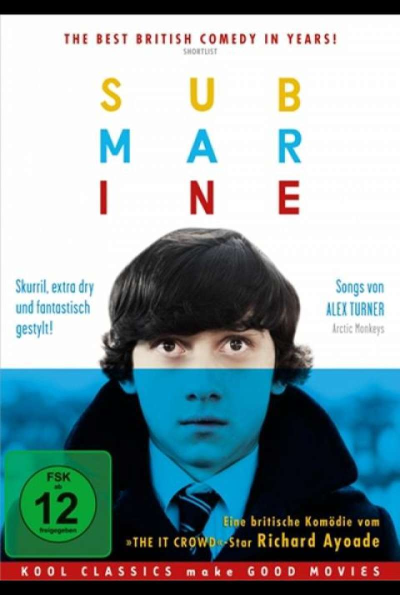 Submarine - DVD-Cover
