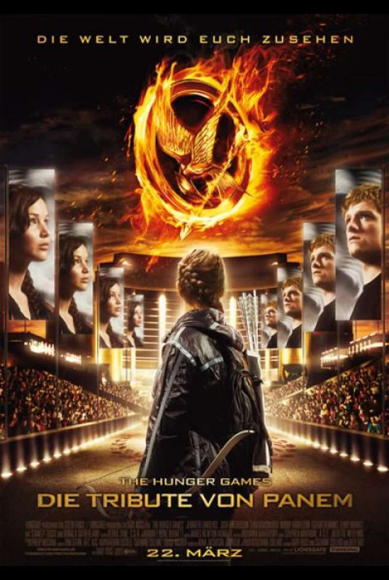 Die Tribute von Panem - The Hunger Games - Filmplakat