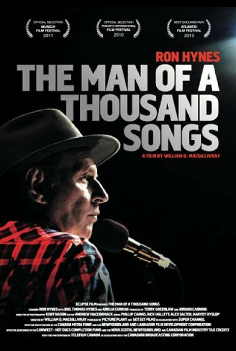 The Man of a Thousand Songs - Filmplakat