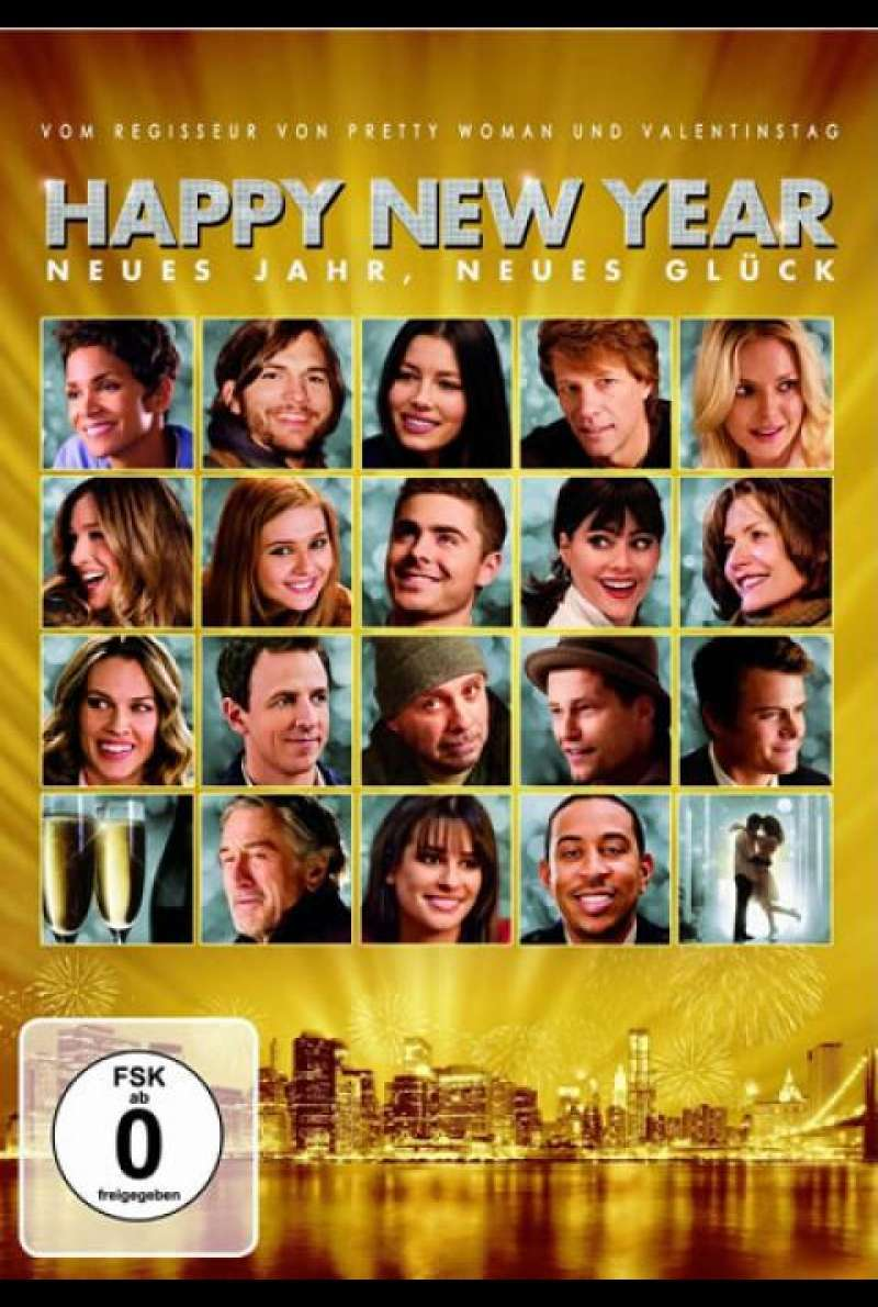 Happy New Year - DVD-Cover