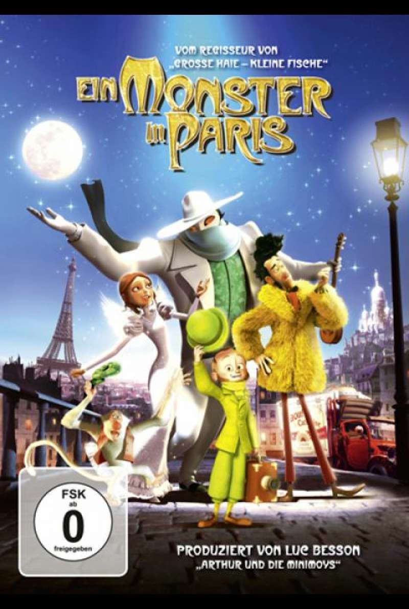 Ein Monster in Paris - DVD-Cover