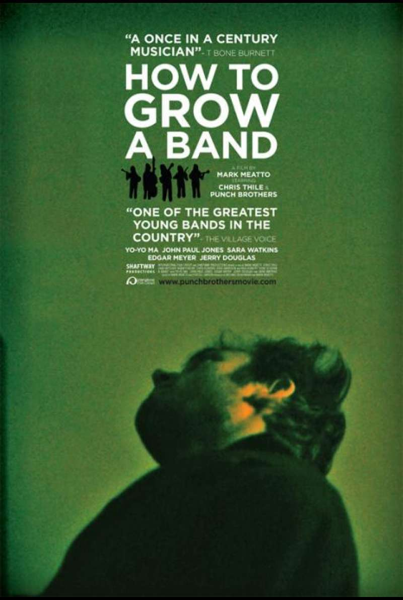How to Grow a Band - Filmplakat (US)