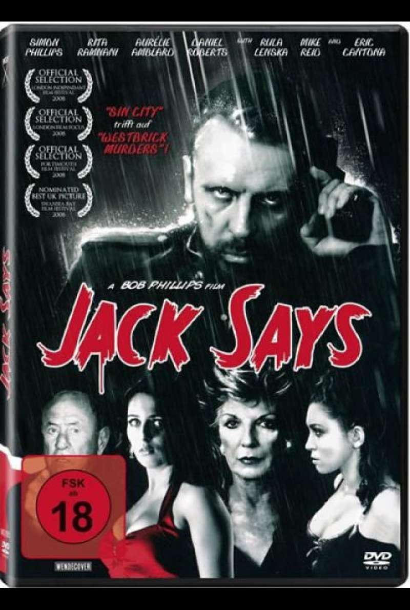Jack Says - DVD-Cover