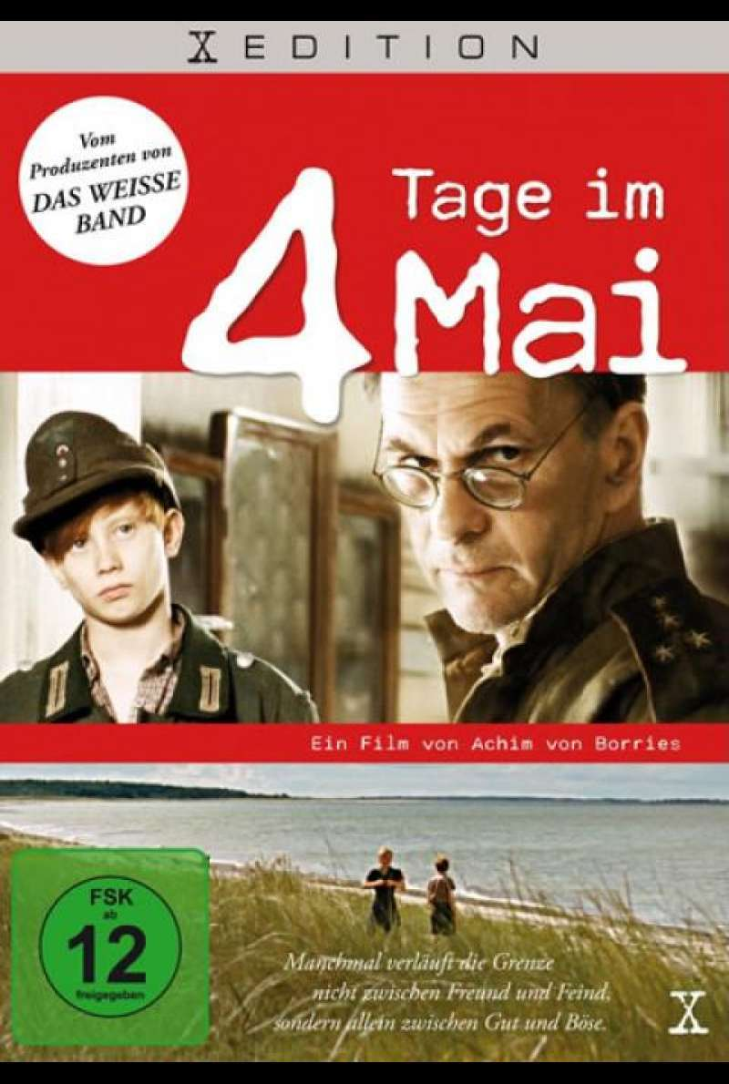4 Tage im Mai - DVD-Cover