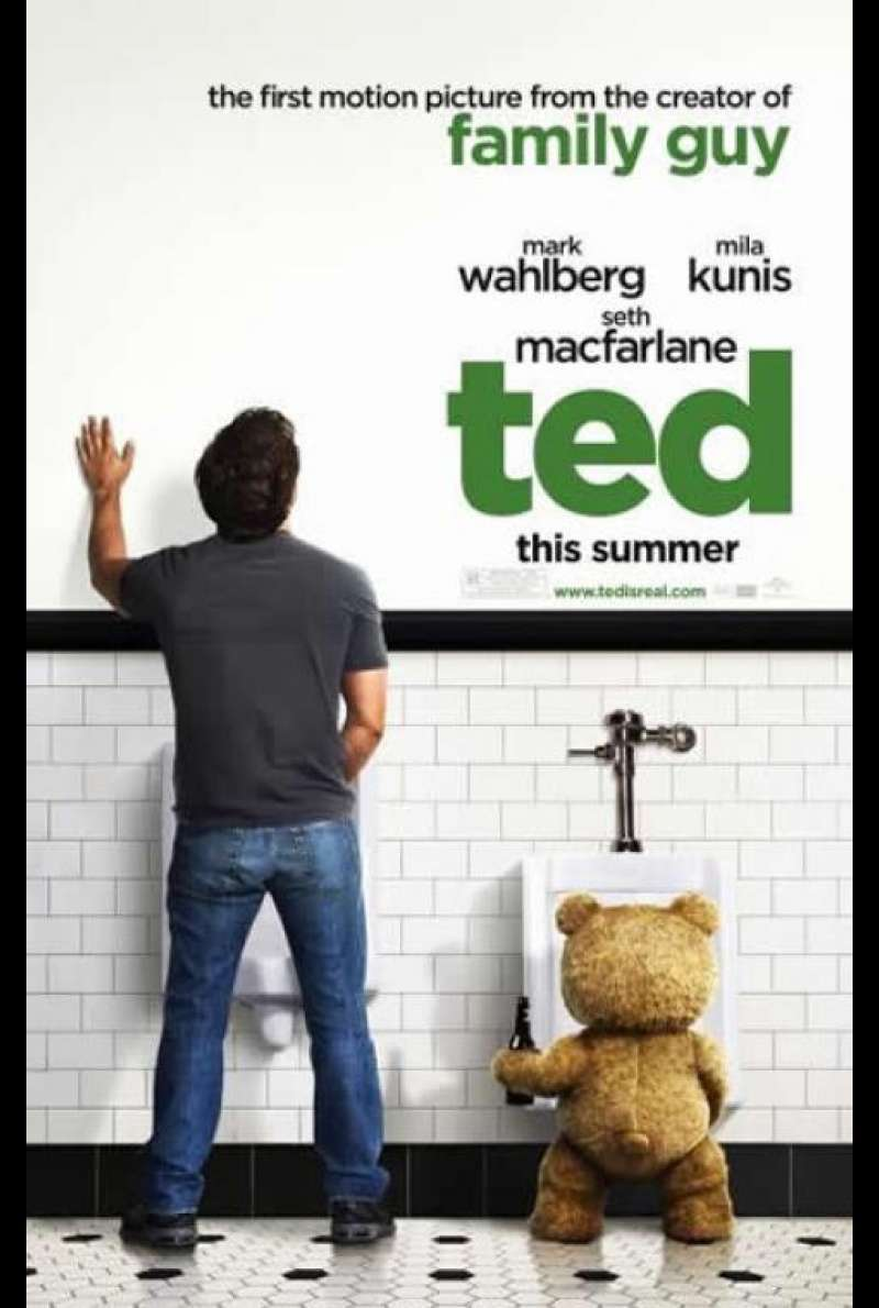 Ted - Filmplakat (US)