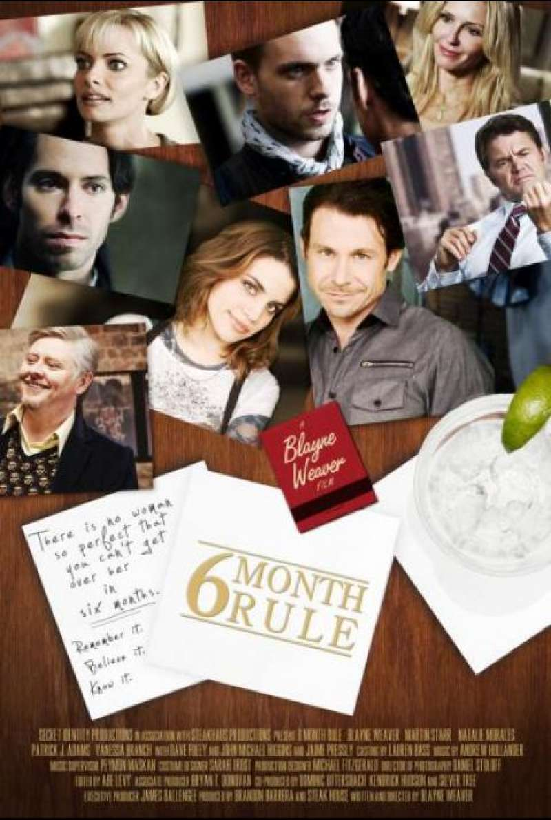 6 Month Rule - Filmplakat (US)