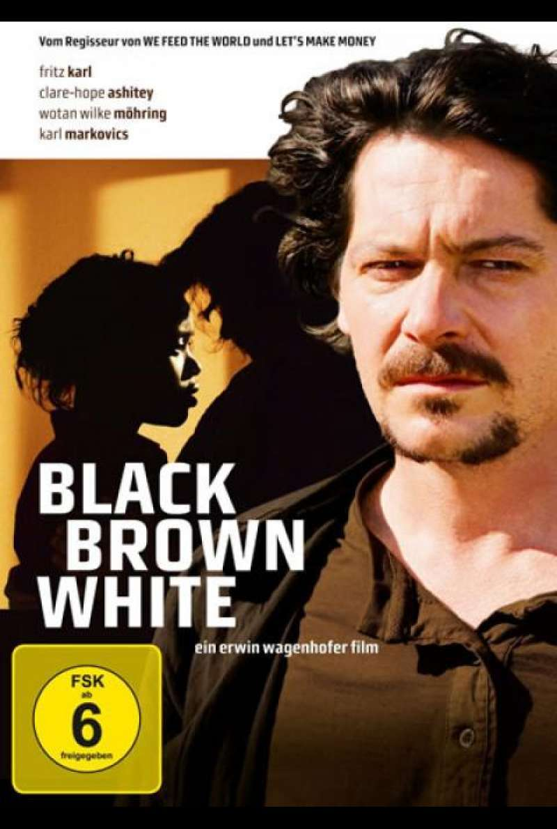 Black Brown White - DVD-Cover
