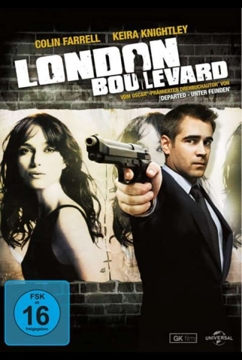 London Boulevard - DVD-Cover