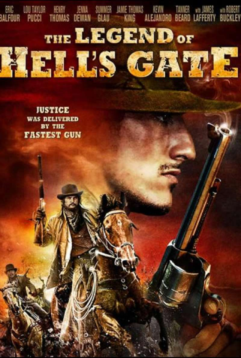 The Legend of Hell's Gate - Filmplakat (US)