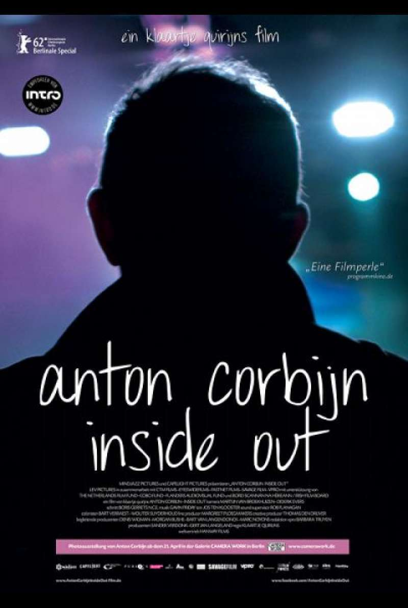 Anton Corbijn Inside Out - Filmplakat