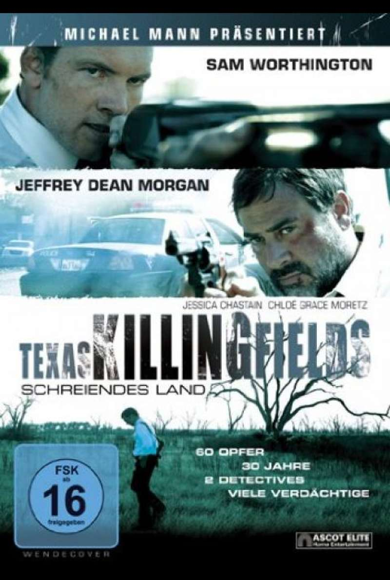 Texas Killing Fields - DVD-Cover