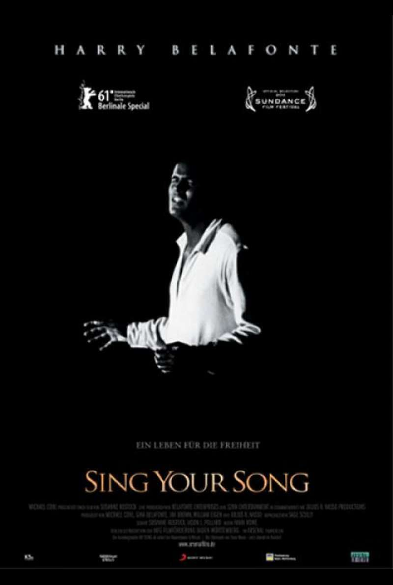 Sing Your Song - Filmplakat