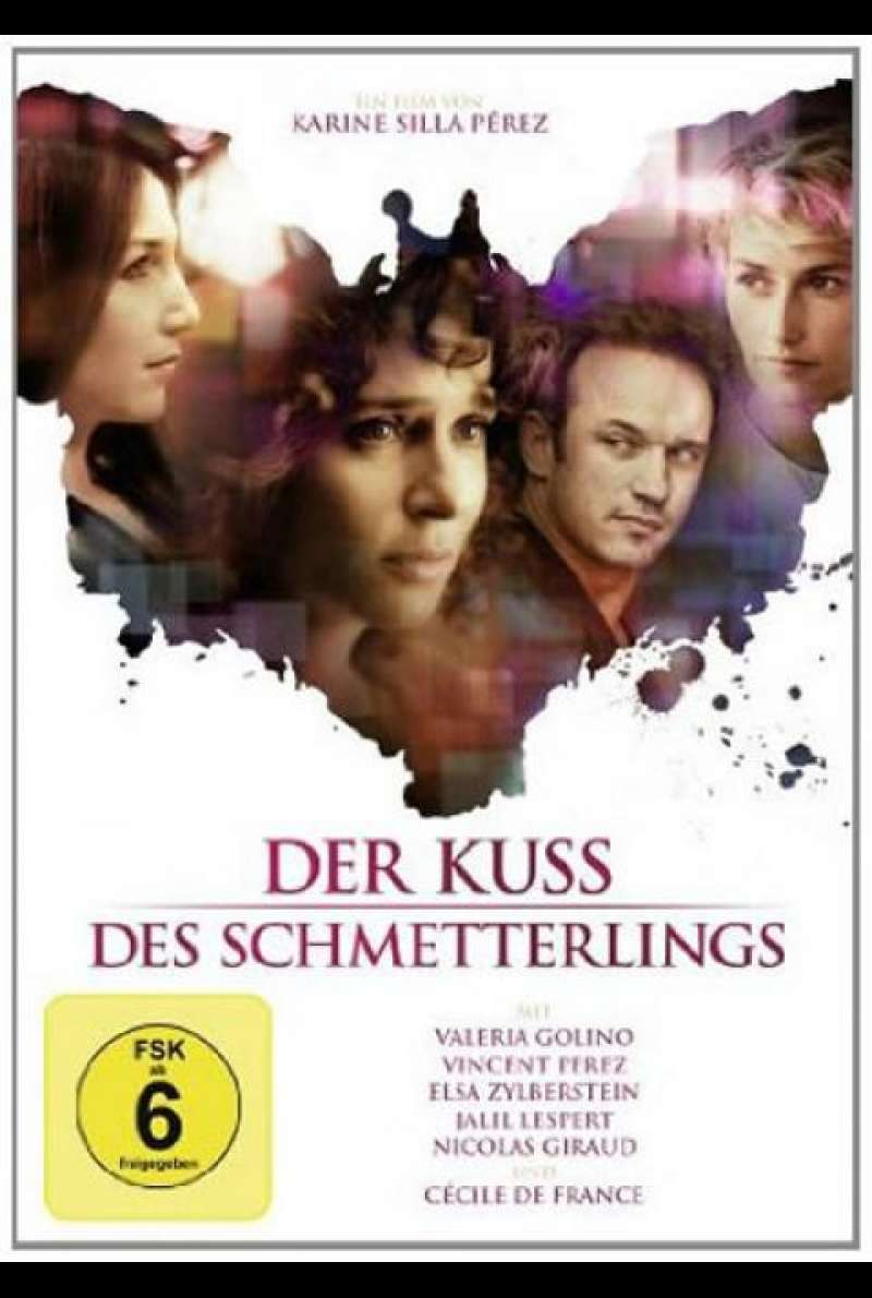 Der Kuss des Schmetterlings - DVD-Cover