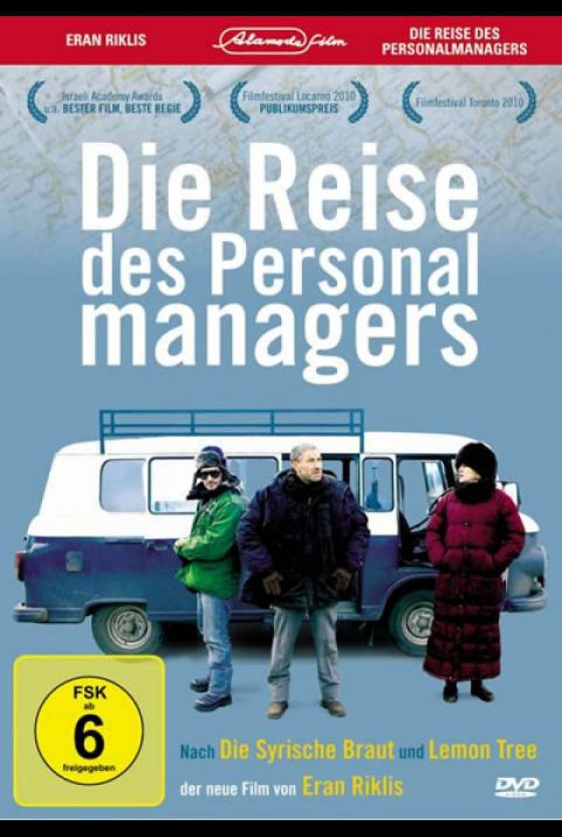 Die Reise des Personalmanagers - DVD-Cover