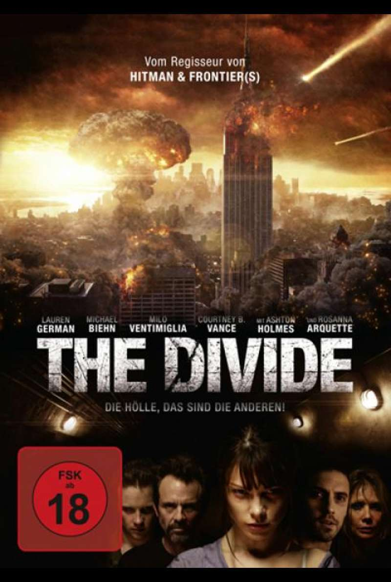 The Divide - DVD-Cover