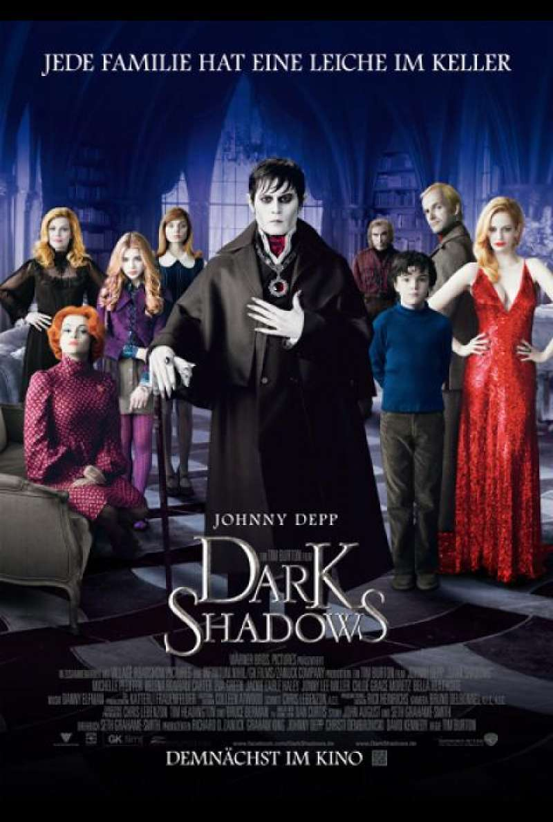 Dark Shadows - Filmplakat