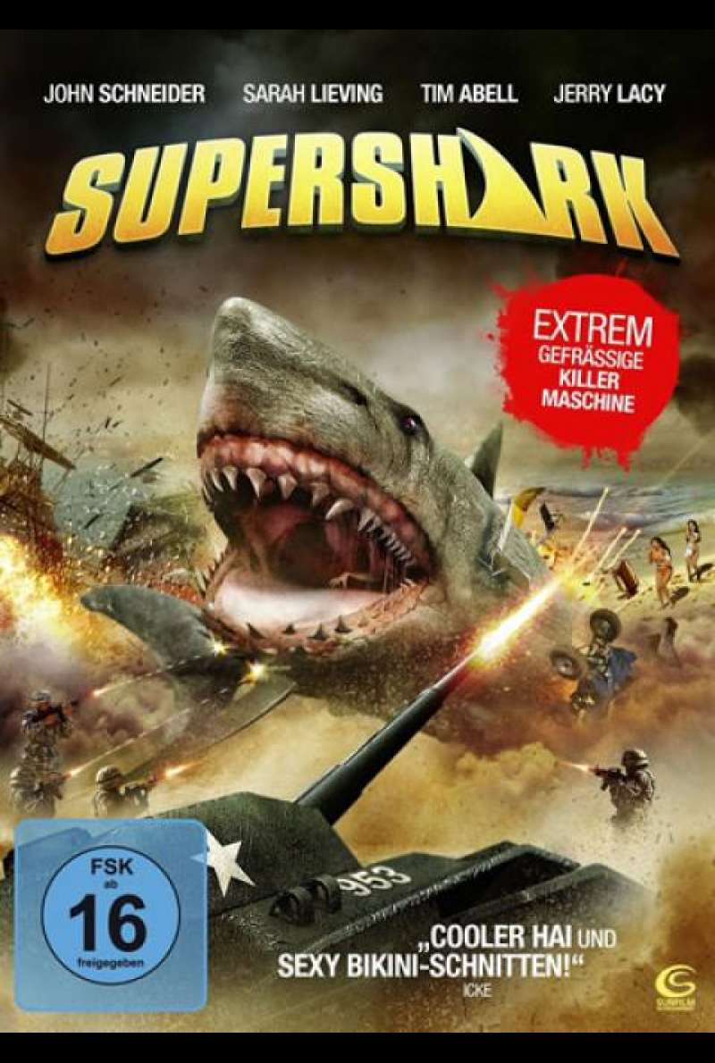 Supershark - DVD-Cover