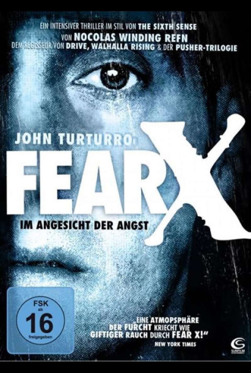 Fear X - Im Angesicht der Angst - DVD-Cover