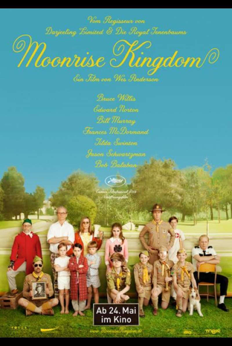Moonrise Kingdom - Filmplakat