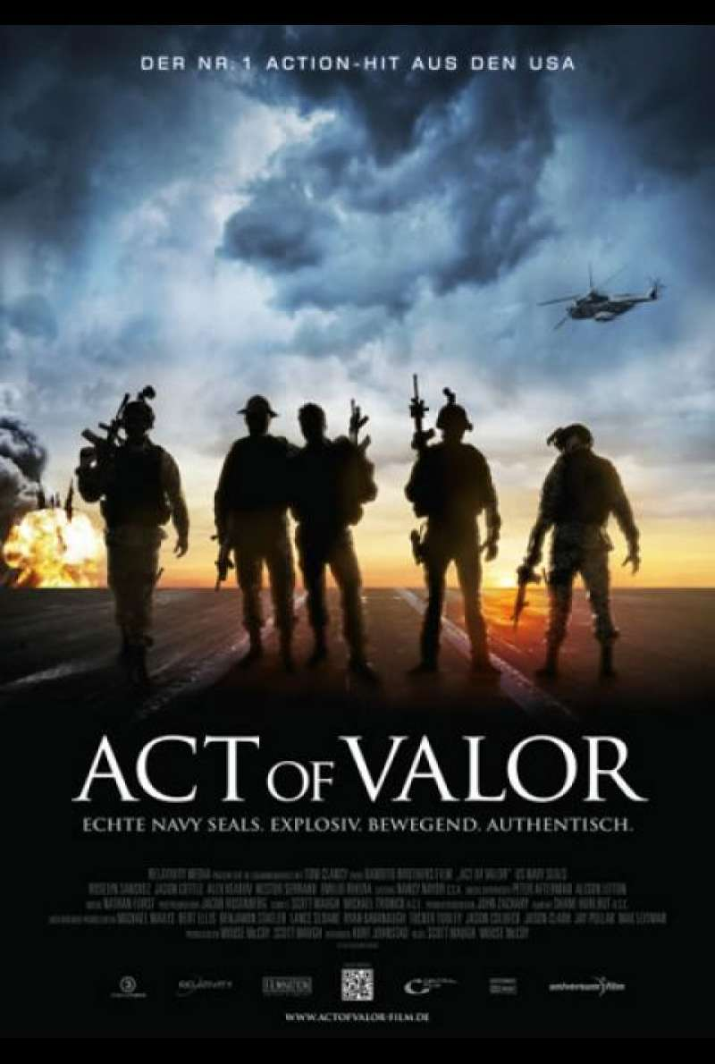Act of Valor - Filmplakat