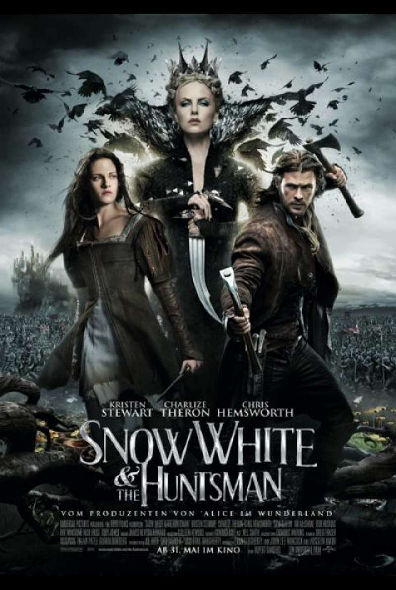 Snow White and the Huntsman - Filmplakat