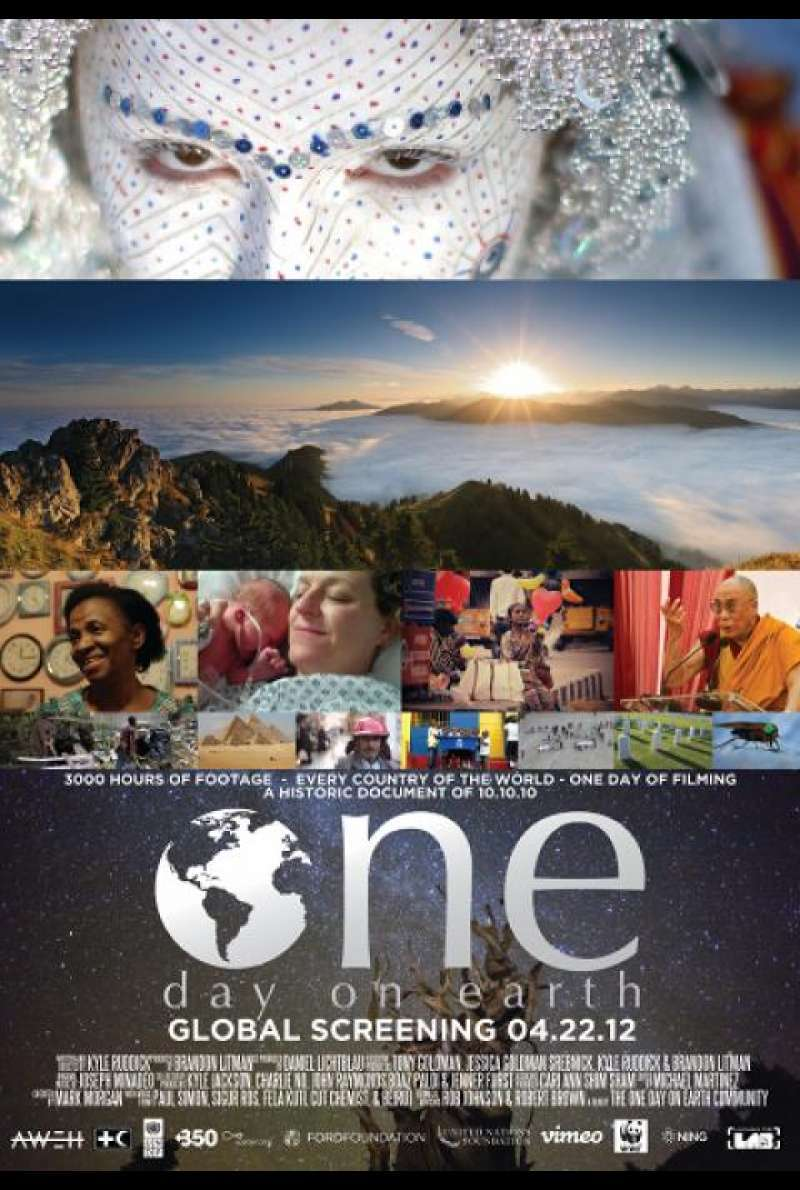 One Day on Earth - Filmplakat (INT)