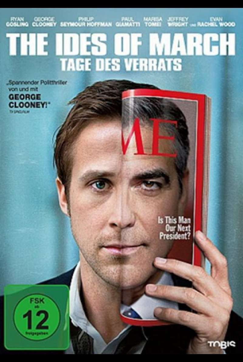 The Ides of March - Tage des Verrats - DVD-Cover