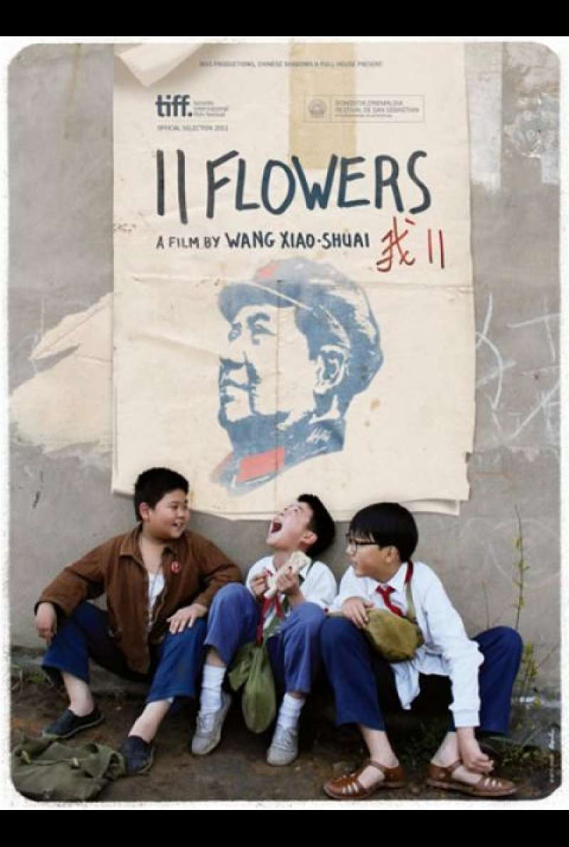 11 Flowers - Filmplakat (INT)