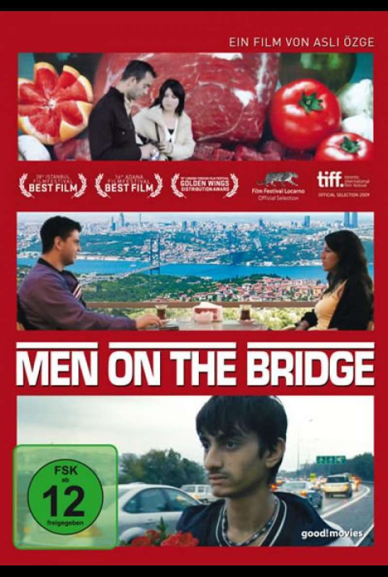 Men on the Bridge - DVD-Cover