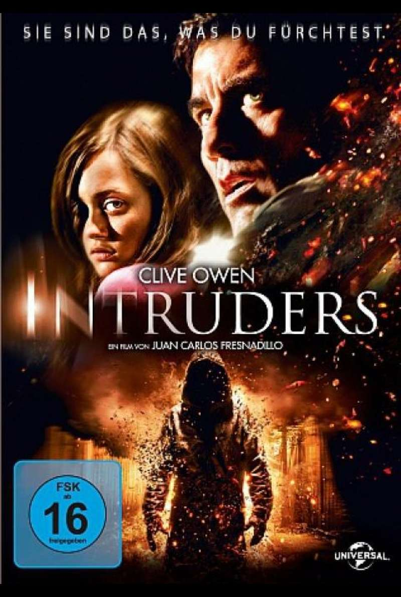 Intruders - DVD-Cover