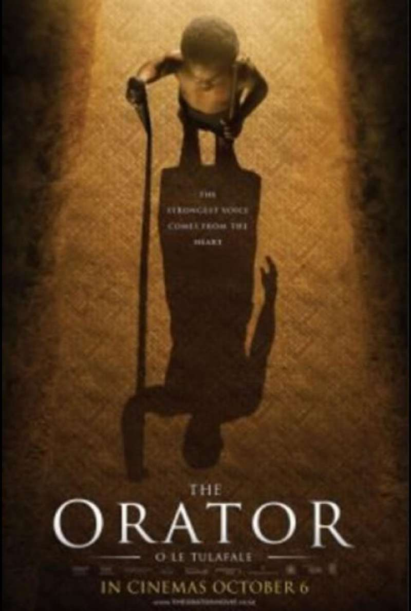 The Orator - Filmplakat (NZL)
