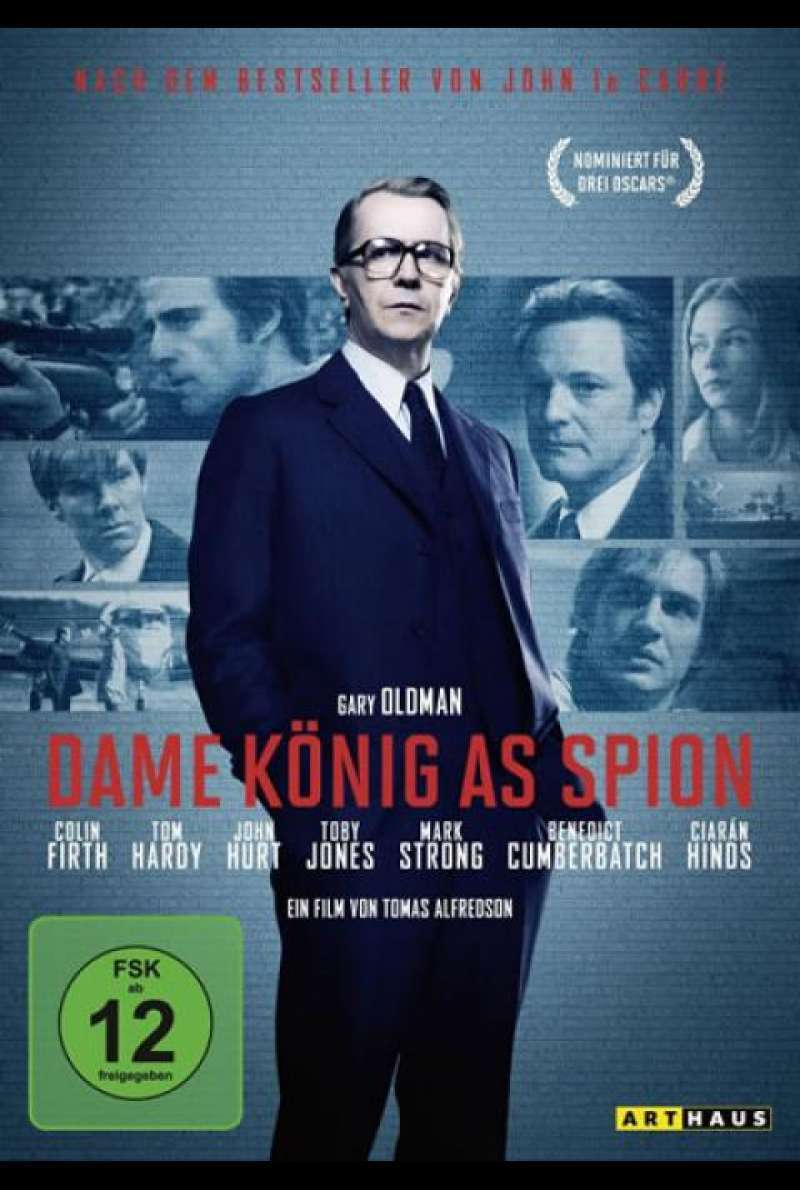 Dame, König, As, Spion - DVD-Cover