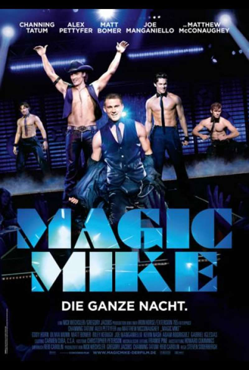 Magic Mike - Filmplakat