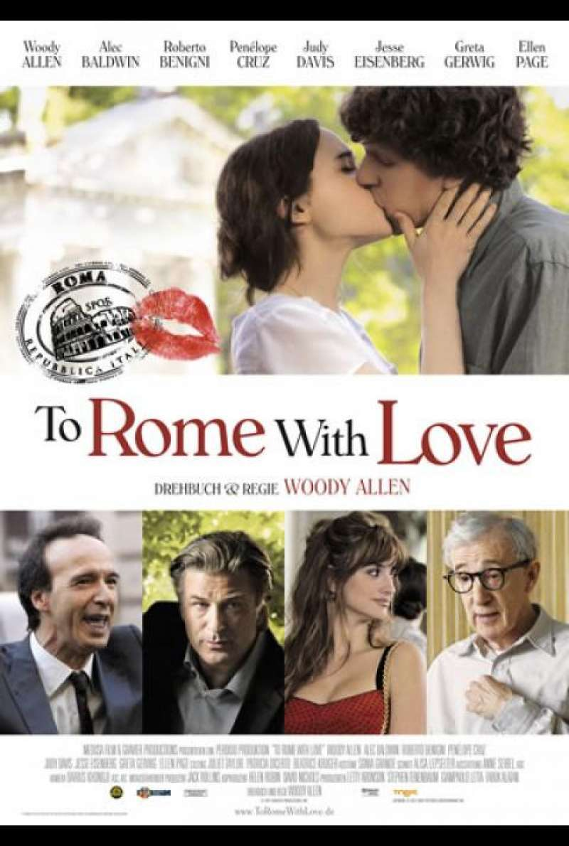 To Rome with Love - Filmplakat
