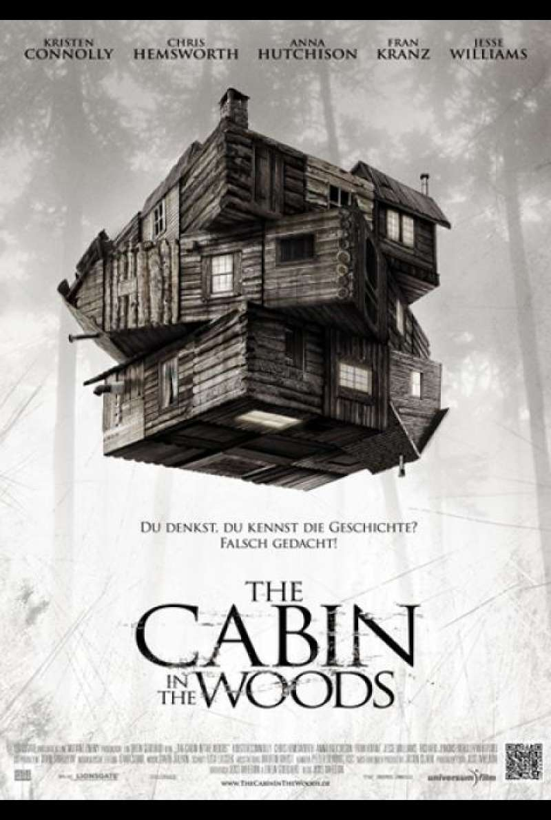 The Cabin in the Woods  - Filmplakat